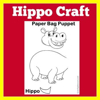 Hippo Craft | Hippo Activity | Hippopotamus