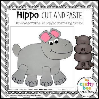 Hippo Cut and Paste