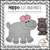 Hippo Craft   Zoo Animal Craft   Zoo Animal Activities   Jungle Animal Craft