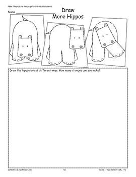 Hippo (Draw Then Write)