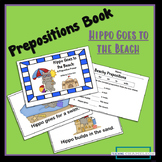 Hippo Goes to the Beach- booklet on prepositions with acco
