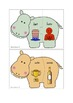 Hippo Magic E Matching Puzzle Cards