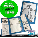Hippo Research Project - A Zoo Animal Research Lapbook