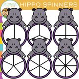 Hippo Spinners Clip Art