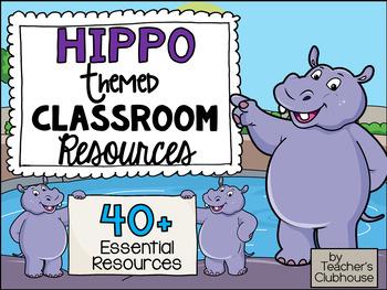 Hippo Theme Decor Pack