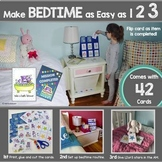 Hippo's Bedtime Routine Cards (Visual Schedule & Optional