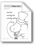 Hippo's Hat (letter/sound association for 'h')