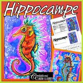 Arts plastiques: Hippocampe, été, plan de cours en français