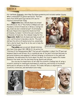 Hippocrates, Euclid, Hypatia, & Thucydides: Greece by Don Nelson
