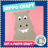 Hippopotamus Animal Craft