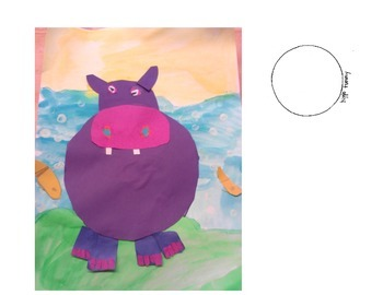 Hippopotamus Art Project