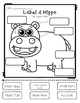 Hippo Research Report Printables (Safari Animal)