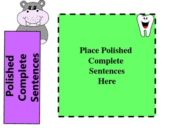 Hippy the Hippo Goes to the Dentist: Extracting Sentence Fragments