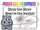 Hippy the Hippo Goes to the Dentist: Extracting Sentence F