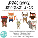 Hipster Animal Classroom Decorations