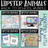 Hipster Animals Back to School Bundle