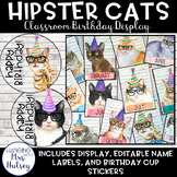 Hipster Cats Birthday Display