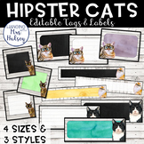 Hipster Cats: Editable Tags and Labels