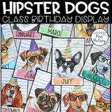 Hipster Dogs Birthday Display