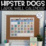 Hipster Dogs: Editable Calendar