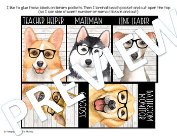 Hipster Dogs: Editable Class Jobs Display