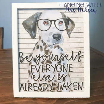 Hipster Dogs: Motivational Posters