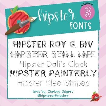 Hipster Fonts: Volume 3