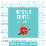 Hipster Fonts: Volume 6