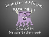 Hipster Monster Addition Strategy Posters and Practice