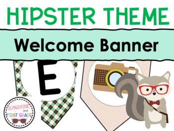 Hipster Theme Welcome Banner