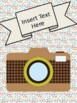 Hipster Themed Editable Covers