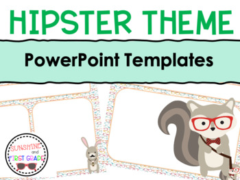 Hipster Themed Editable Powerpoint