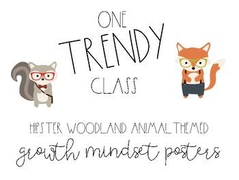 Hipster Woodland Mindset Posters