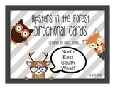 Hipsters in the Forest - Directional Cards by Bee's Knees
