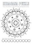 Hiragana Mandala puzzle