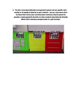 Hire, Probation, Fire Behavior Charts Explaination