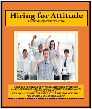 Vocational, HIRING FOR ATTITUDE, Career, Career Readiness, Employment