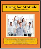 Vocational, Hiring for Attitude, Career