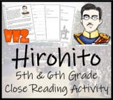 Hirohito - 5th & 6th Grade Close Reading Activity