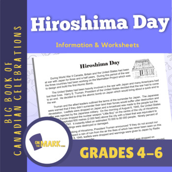Hiroshima Day Lesson Plan Grades 4-6