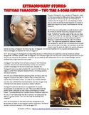 Hiroshima and Nagasaki 2x Atomic Bomb Survivor Worksheet