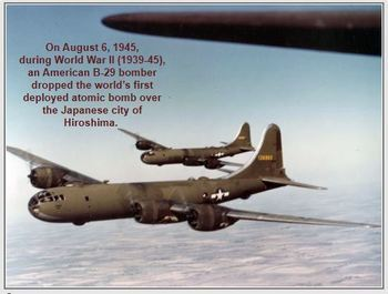 Hiroshima and Nagasaki WWII Japanese Surrender PowerPoint