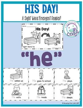 "His Day: A Sight Word Emergent Reader ""he"""