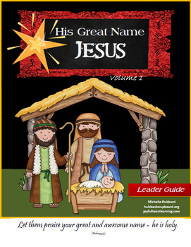His Great Name - Jesus (Volume 1)