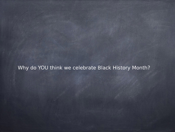 His-Story's Black - A Black History Month Project
