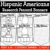 Hispanic Americans Research Pennant Banner Project (Hispanic Americans)