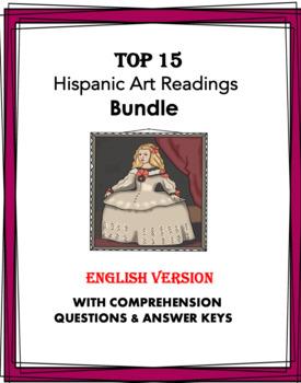Hispanic Art Reading Bundle: 10 Readings @40% off! (ENGLISH VERSION)