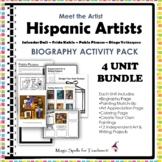 Hispanic Artists Biography and Art Activities Unit - Hispanic Heritage Month
