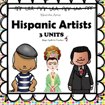 Hispanic Artists - Dali - Frida Kahlo - Picasso