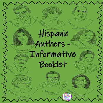 Hispanic Authors Coloring Book